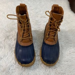 L.L. Bean Duck Rubber Hunting Boots 8